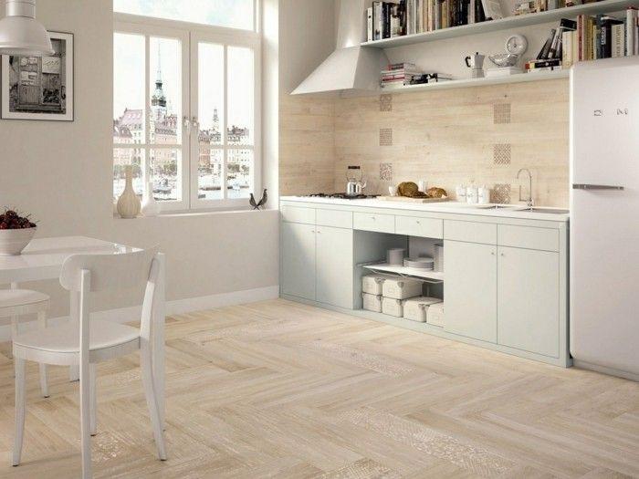 Le Carrelage En Marbre En 42 Photos Kitchen Flooring Options White Kitchen Floor Kitchen Design