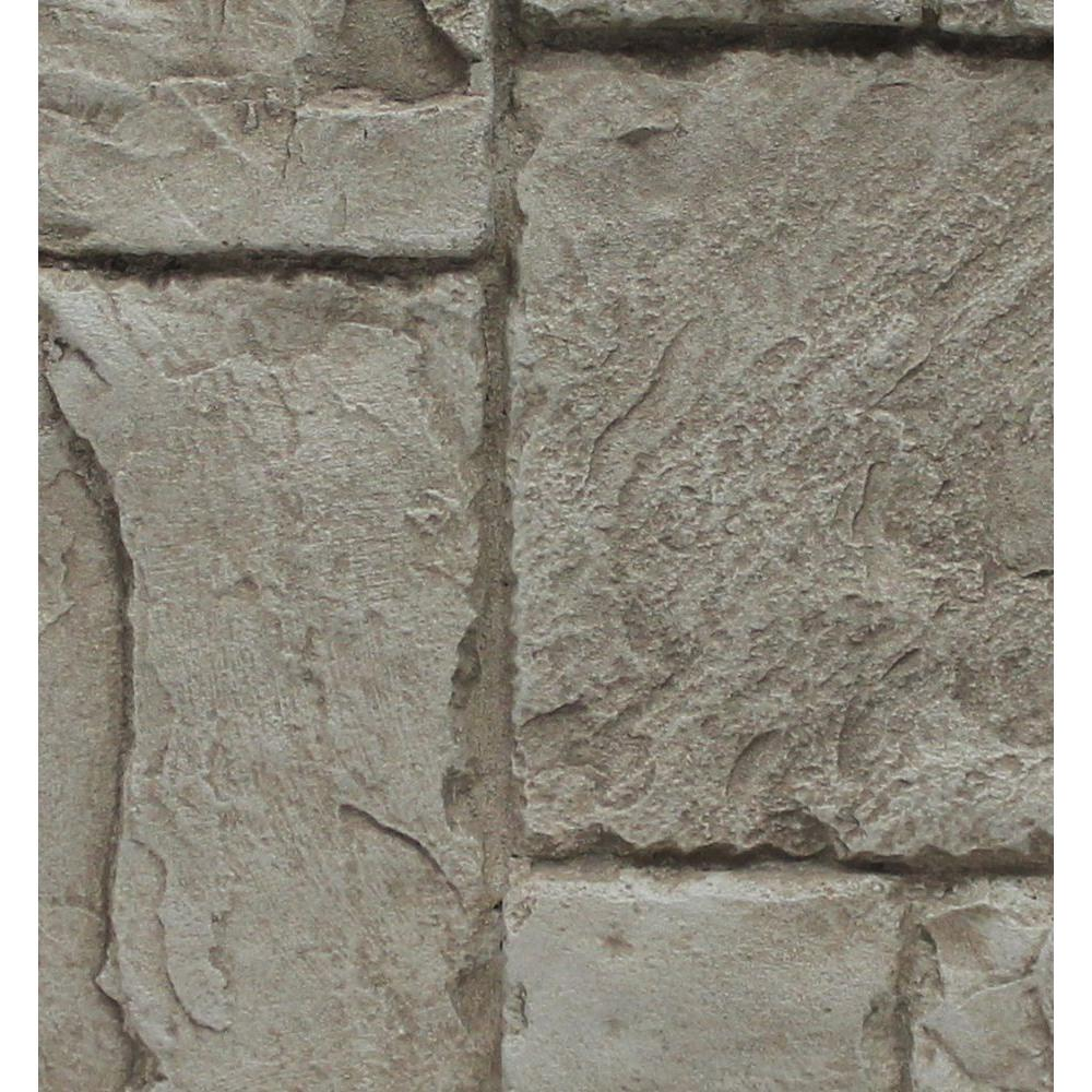 Superior Building Supplies Cliff Gray 24 3 4 In X 48 3 4 In X 1 1 4 In Faux Windsor Stone Panel 89 98 Pi Stone Panels Stone Veneer Siding Faux Stone Panels