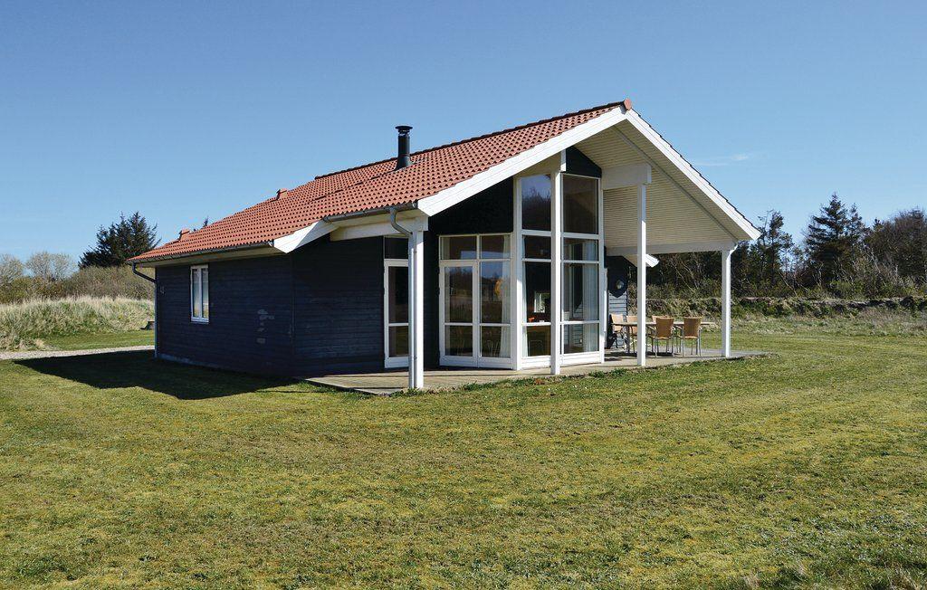 Ferienhaus - Fjand Strand, Dänemark | Dansommer. Auf Dem Weg Von ... Schlichtes Sauna Design Holz Seeblick