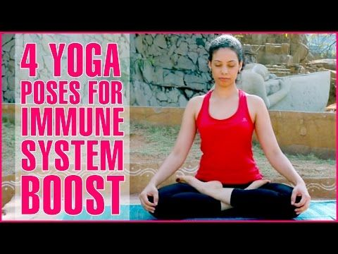 the 4 key yoga poses to boost your immune system and keep
