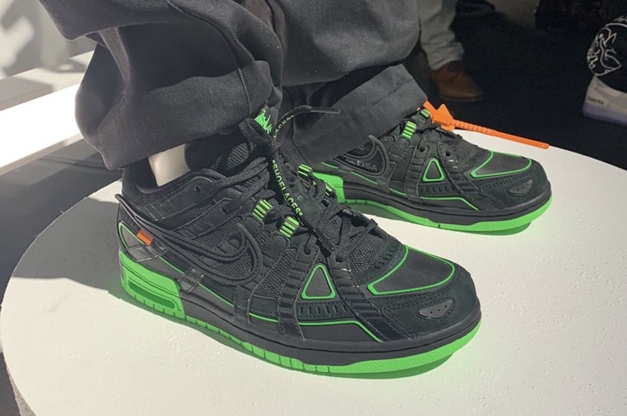 Off White x Nike Air Rubber Dunk in