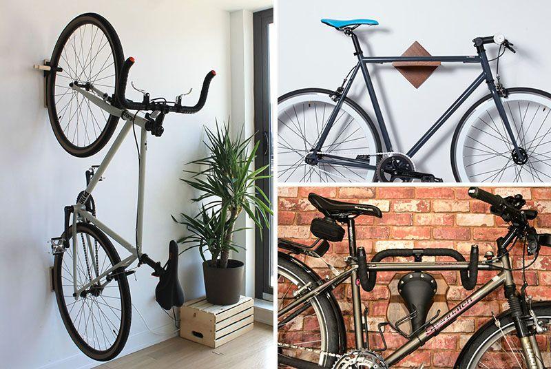 wall mount bike rack