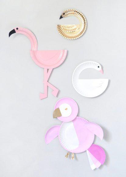 sc 1 st  Pinterest & Paper Plate Birds   Diy paper Bird and Craft