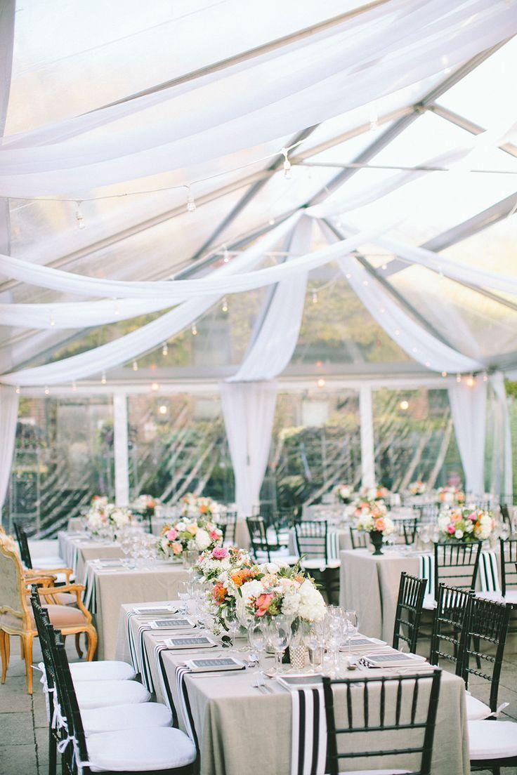 Modern New York Wedding at The Foundry & Modern New York Wedding at The Foundry | Tent wedding Event decor ...