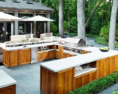 Modern And Simple Outdoor Kitchen Designs Tenka Modern Outdoor Kitchen Outdoor Kitchen Plans Outdoor Kitchen Cabinets