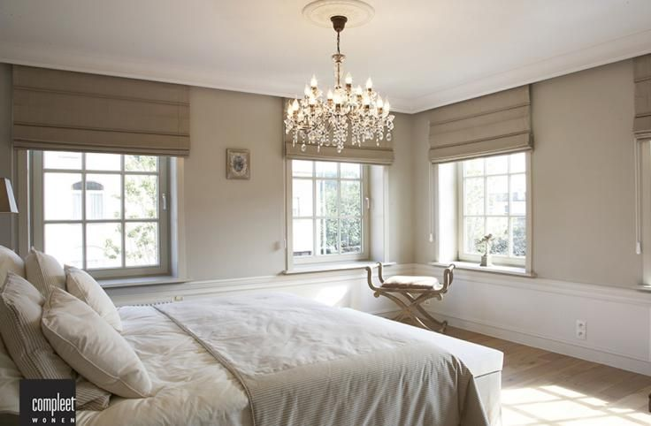 Slaapkamer Modern Landelijk : Belgian style new house droomhuizen slaapkamer en