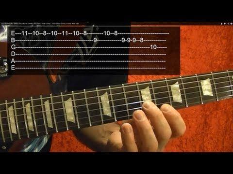 Led Zeppelin Since I Ve Been Loving You Intro Guitar Lessons By Bobbycrispy Basic Guitar Lessons Guitar Lessons Online Guitar Lessons