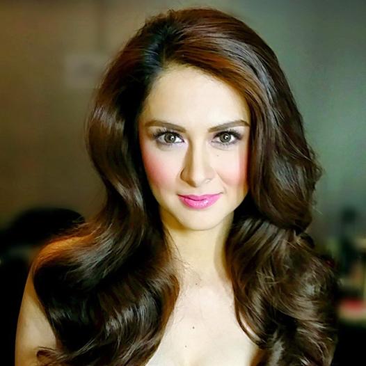 Marian Rivera Philippines Asian Actress Long Wavy Hair