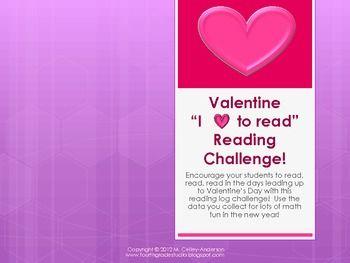 "Valentine's Day Reading Log Challenge ""Plus"""