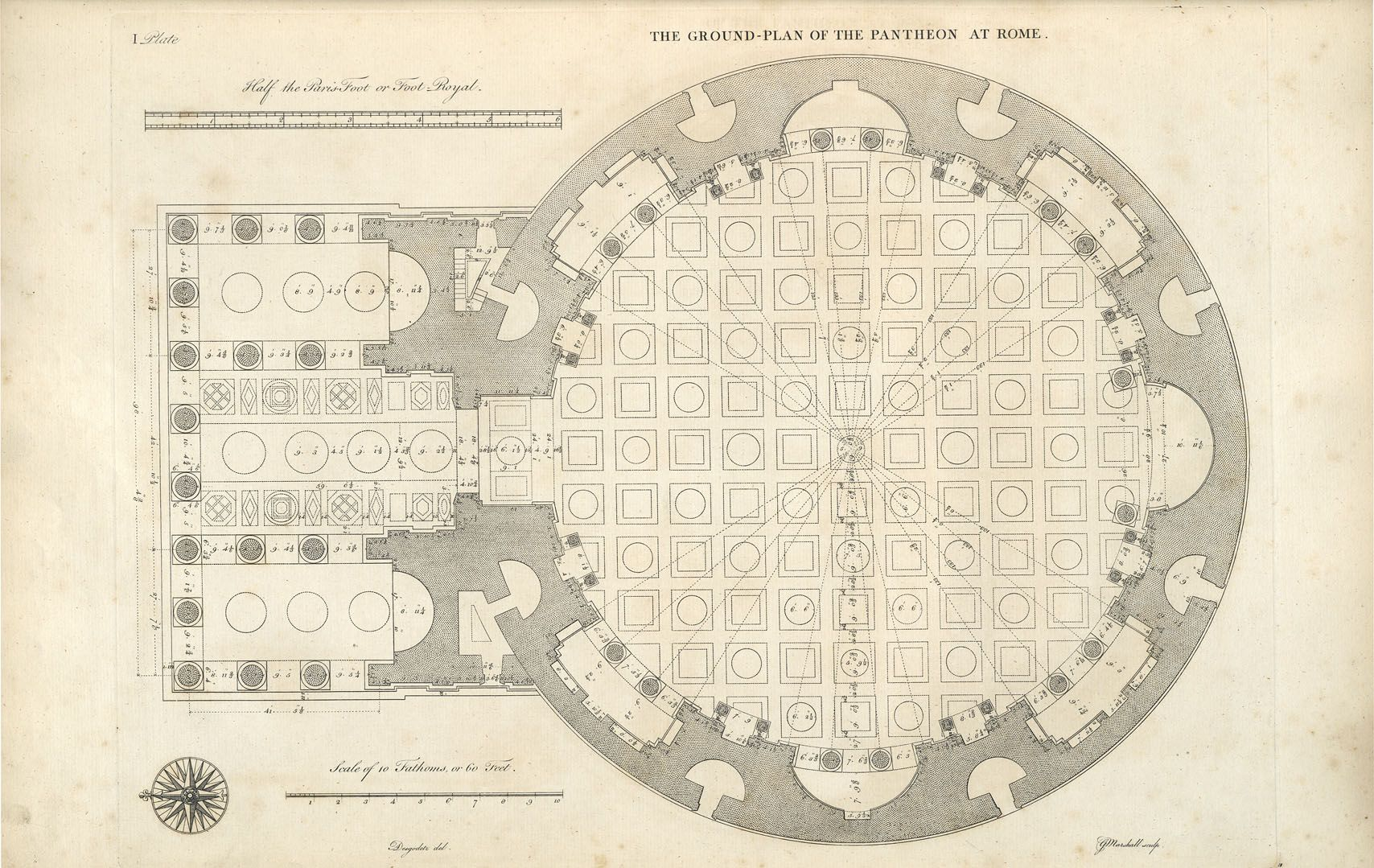 Roman Architecture Drawing visualization in architecture: drawing types | architecture