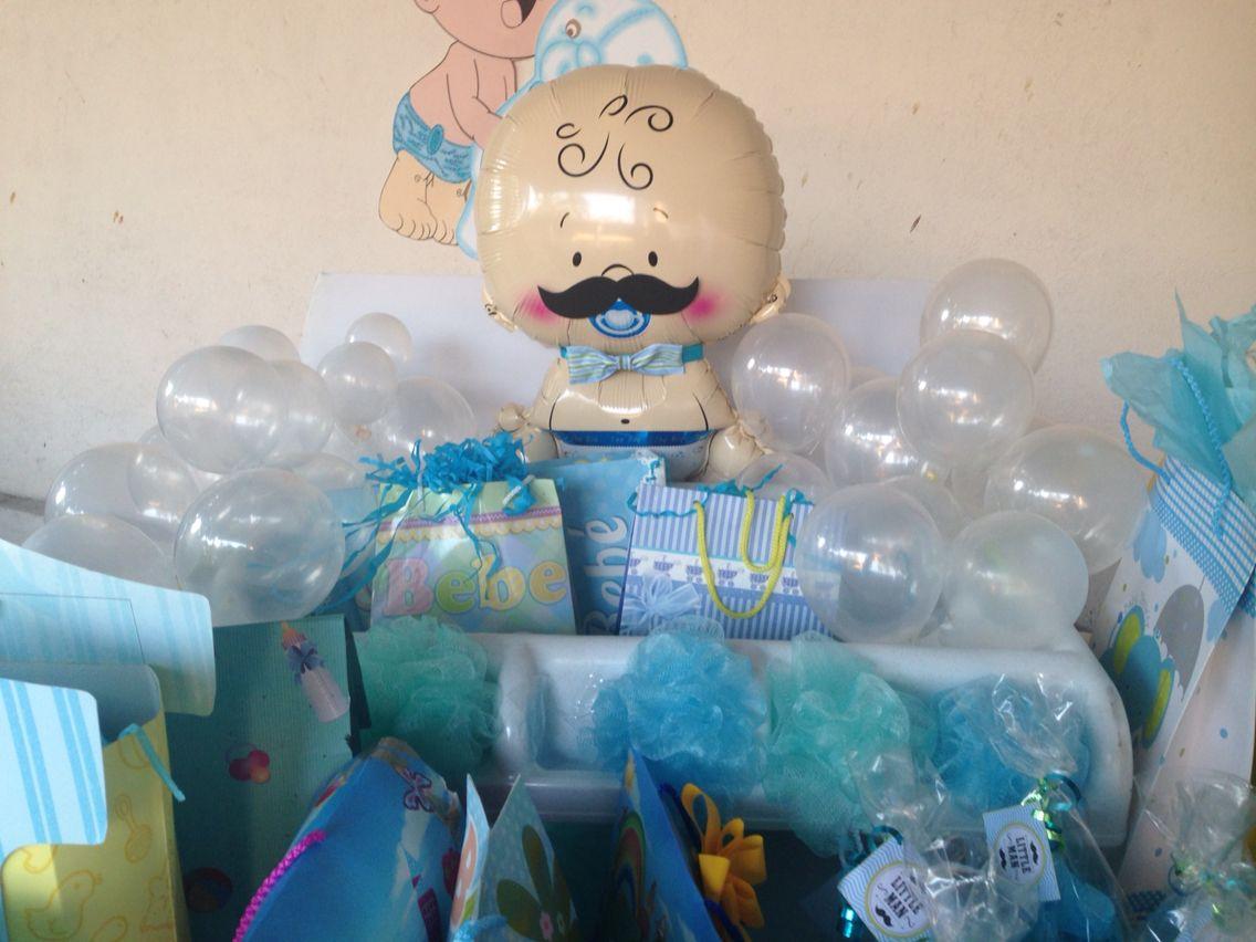 Bañara De Regalos!!! Baby Shower Pequeño Hombresito.
