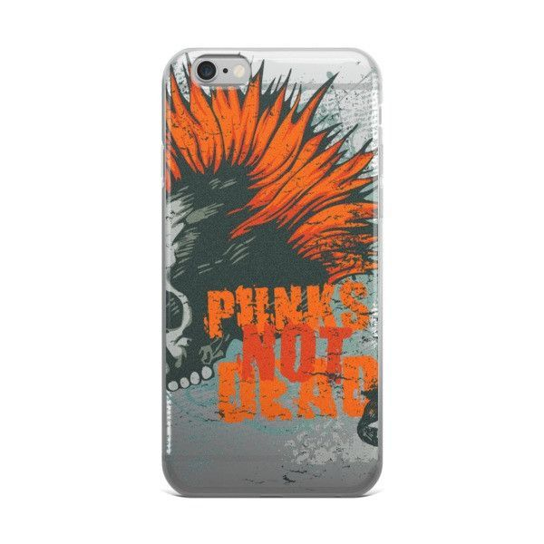 Punk Rock for Life iPhone case