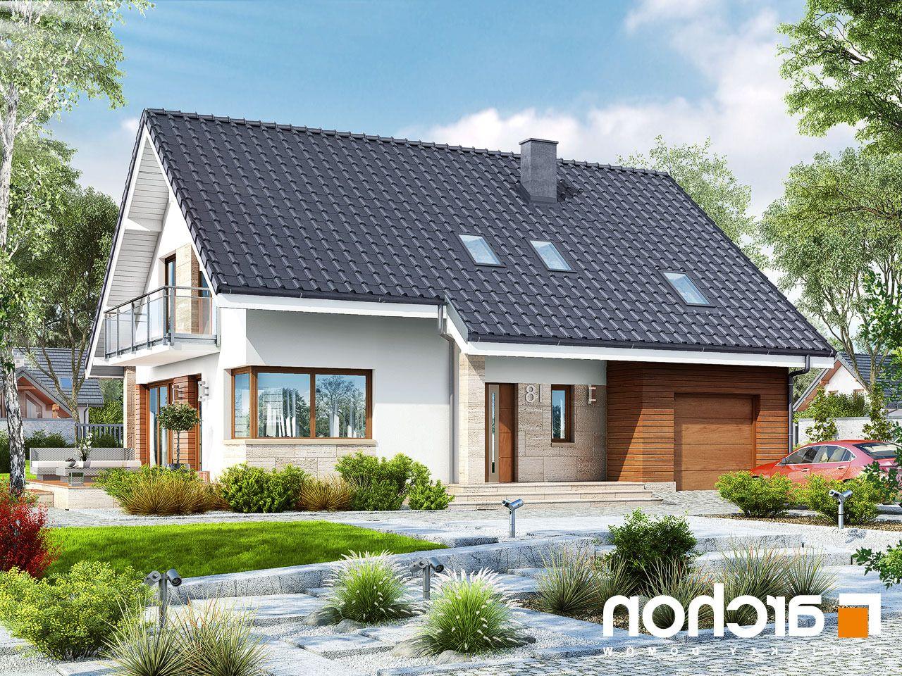 Projekt Domu Jednorodzinnego Dom W Idaredach Ver 2 W 2019 Dom