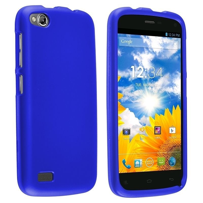 Insten Rubberized Hard Plastic Slim Snap-on Phone Case Cover For BLU Life Play #1871737