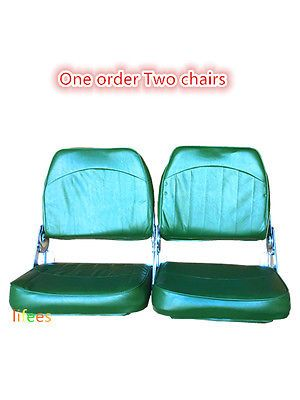 New Fishing Boat Seats Folding Clearance Sale One Order Two Chairs Low Back Fishing Boat Seats Boat Accessories Boat Seats