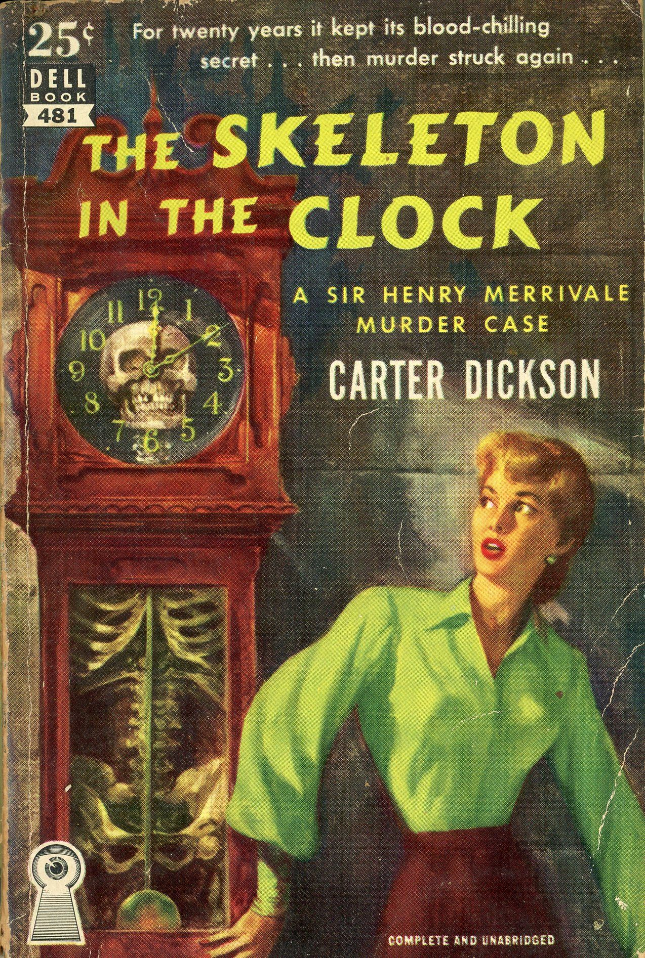 Image result for the skeleton in the clock