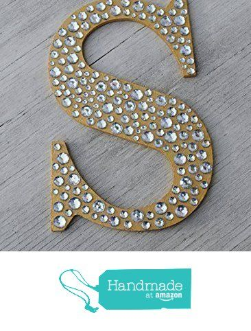 Sparkle Gold Bling Decorative Wall Letters Wedding Decor from