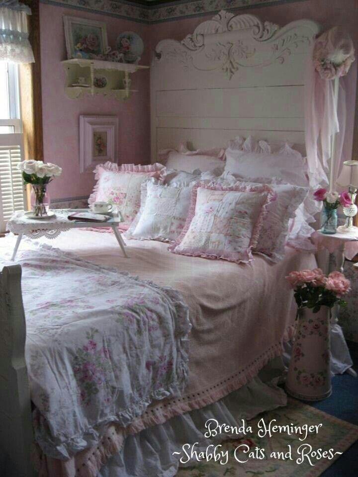Shabby Chic. Beautiful BedroomsBeautiful BedsAmazing ...