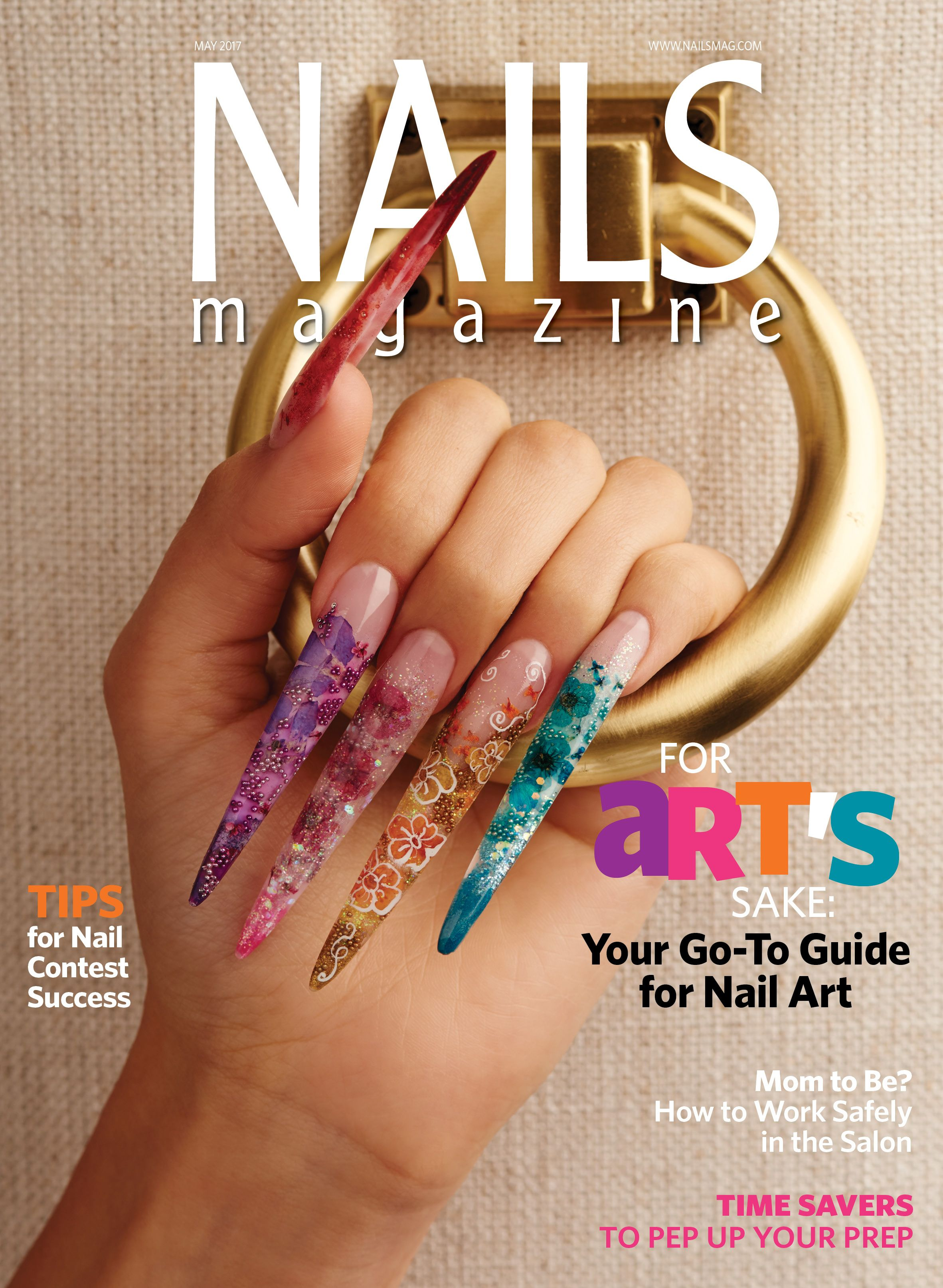 NAILS Magazine  May  Issue  NAILS Magazine  Pinterest  Nails
