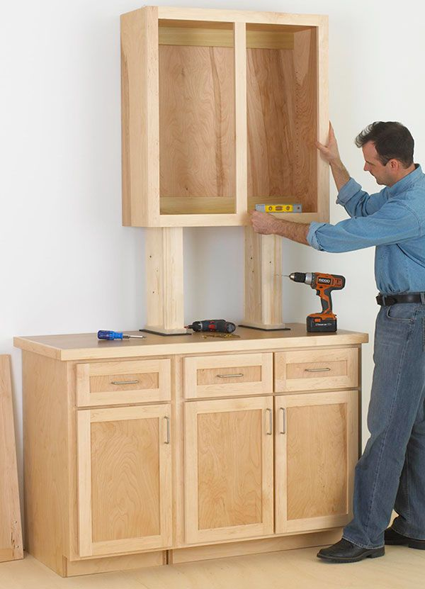 Cabinet Woodworking Plan, Cabinetmaking Shop Project Plan | WOOD ...