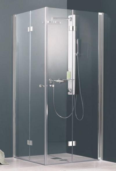 Schulte Schulte Duschkabine Alexa Style Drehfalttur Eckeinstieg