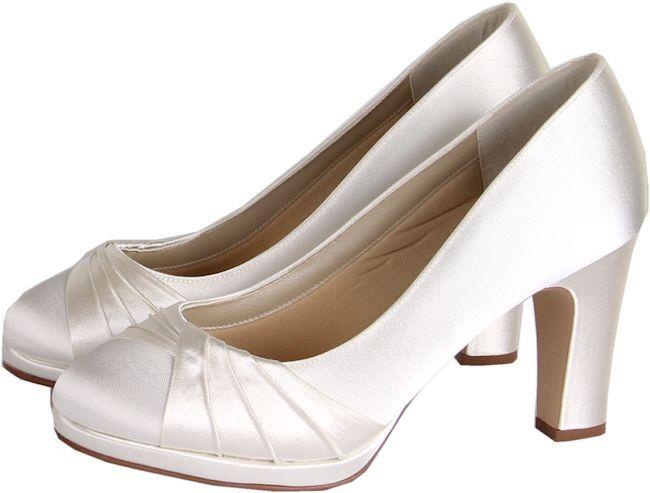 Wedding Shoes With A Chunky Heel Kimberley From Rainbow Club