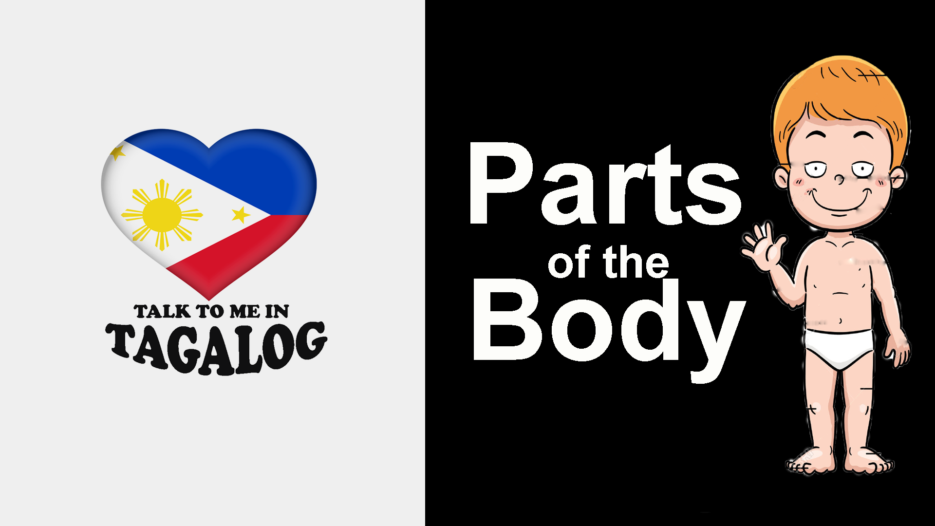 How To Say Parts Of The Body In Filipino Tagalog