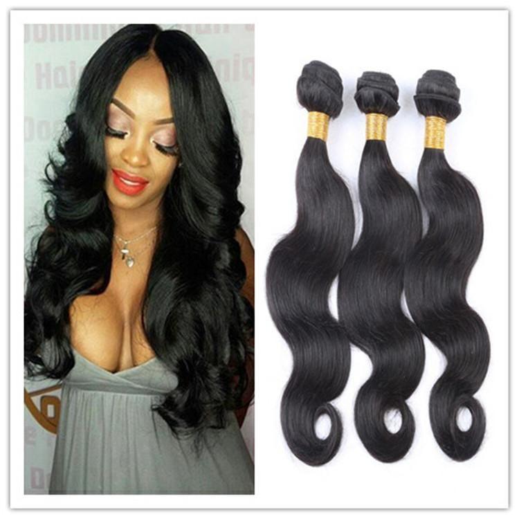 8a Unprocessed Brazilian Virgin Hair Body Wave Human Hair Bundles