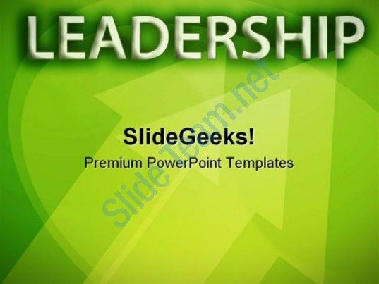 Leadership Abstract PowerPoint Templates And PowerPoint