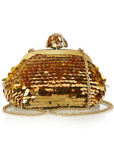 Dolce & Gabbana Dea Paillette-Embellished Clutch - The Great Gatsby-Inspired Accessories - Marie Claire