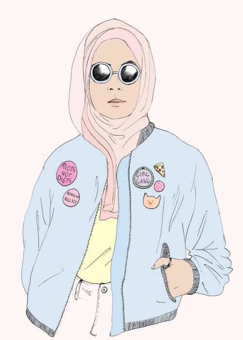 Image Result For Anime Muslim Girl Wallpaper Anime Radius