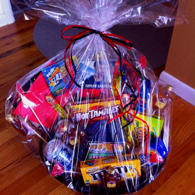 Valentine gift basket for my husband gifts pinterest valentine gift basket for my husband negle Image collections