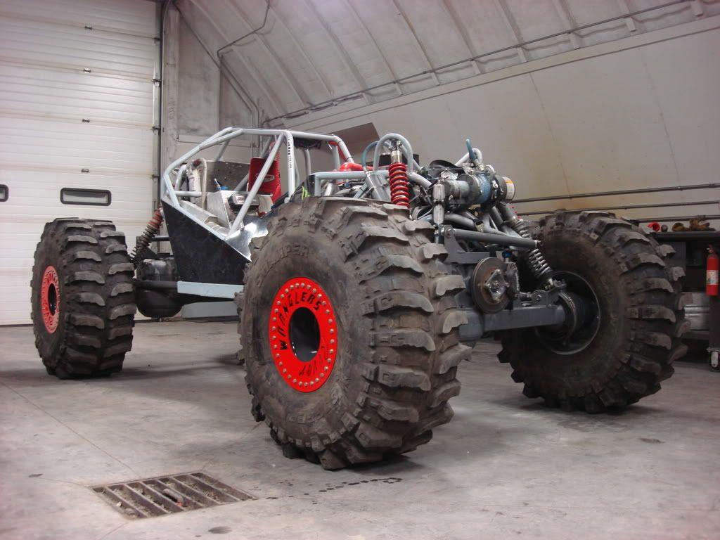 Moon buggy rock crawler