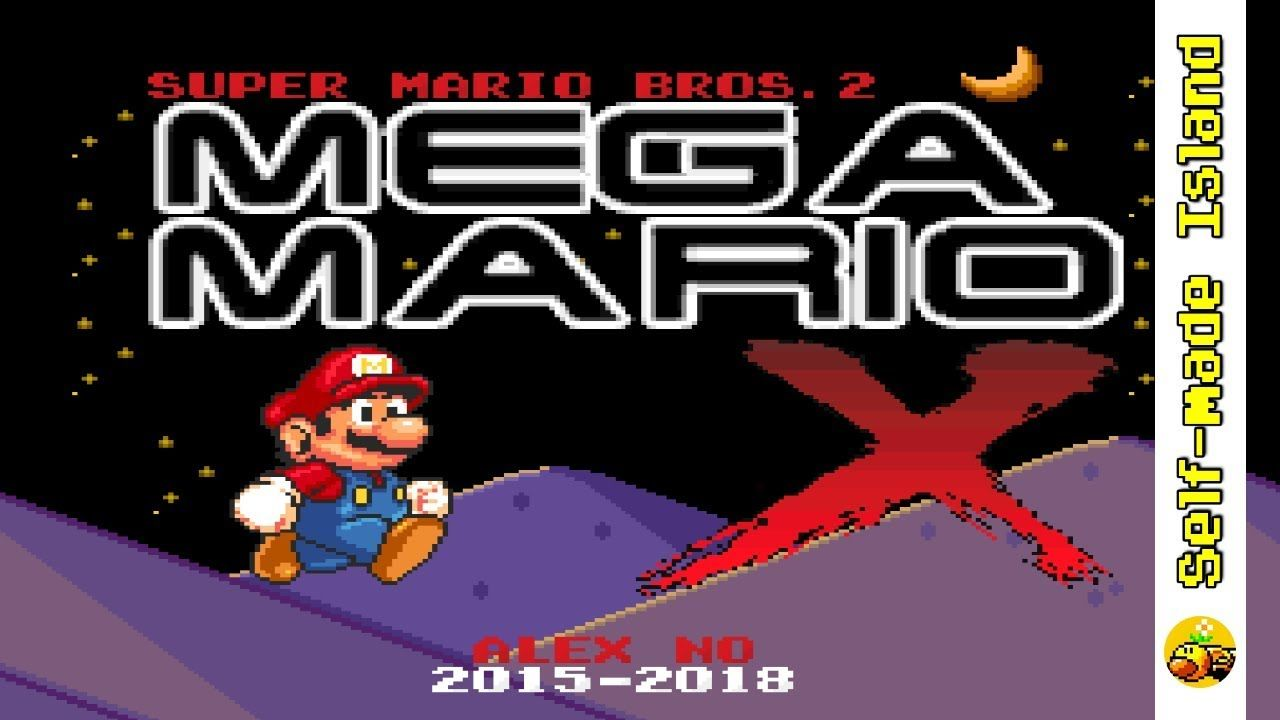 Super Mario Bros 2: Mega Mario X • Super Mario World ROM Hack (SNES