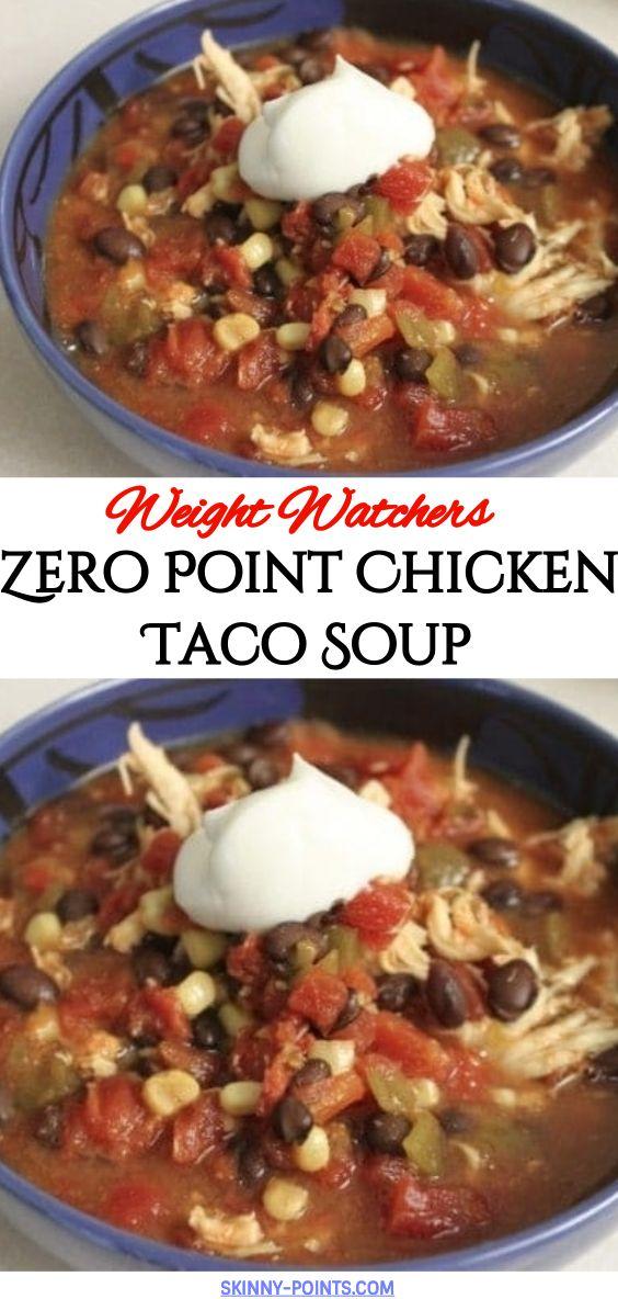 Zero Point Chicken Taco Soup Zero Point Chicken Taco Soup
