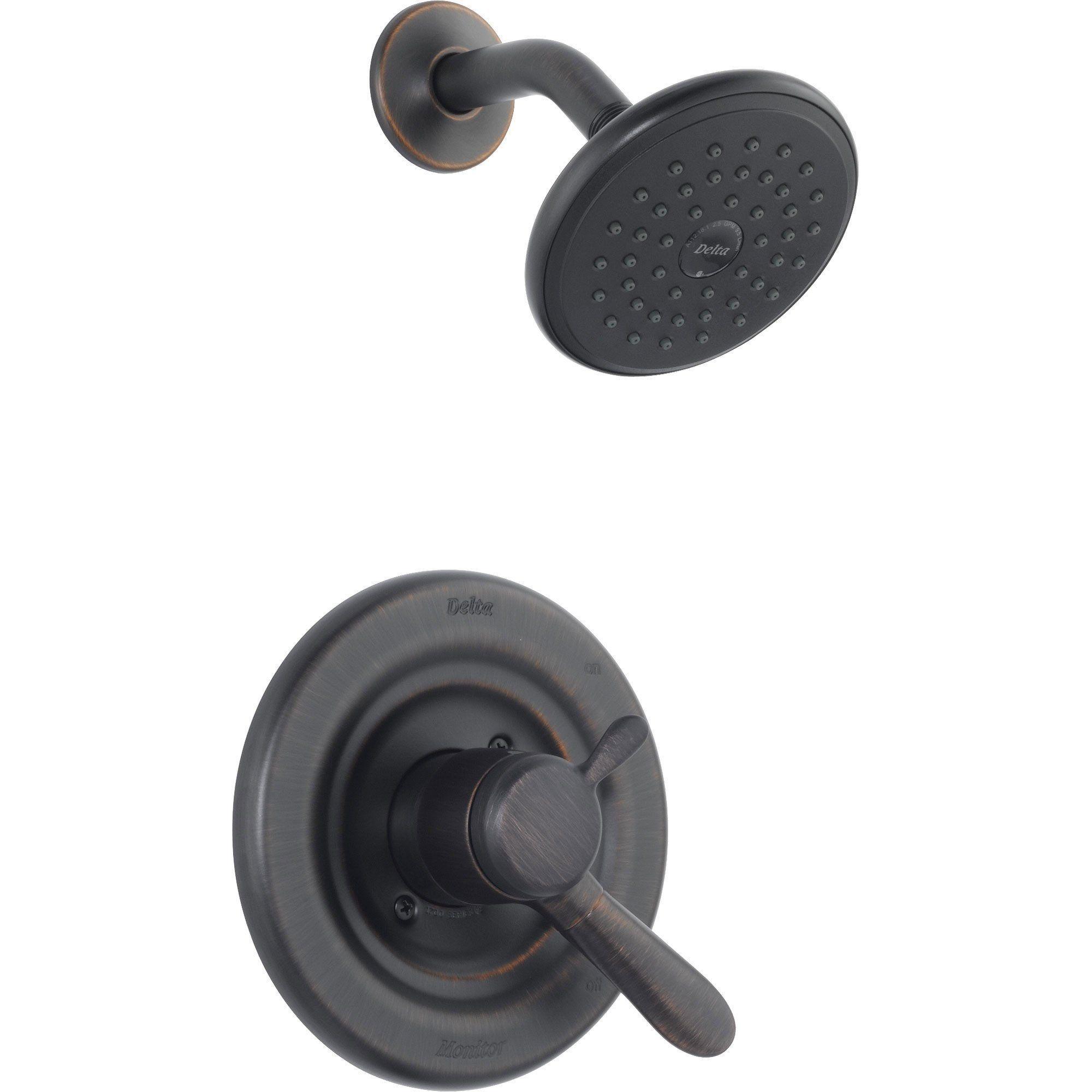 Delta Lahara Venetian Bronze Temp/Volume Control Shower Faucet with Valve D676V