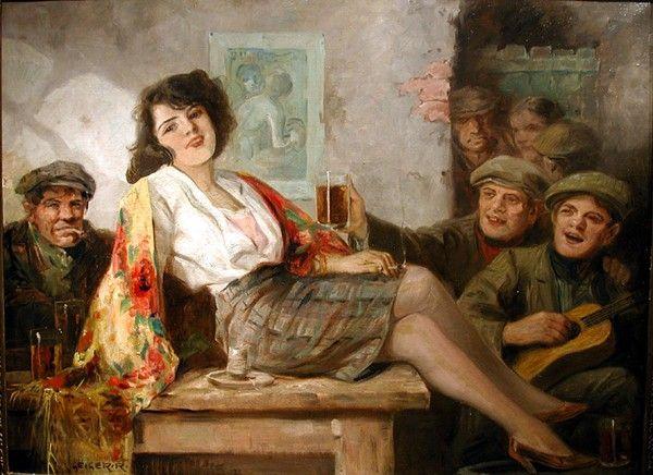 Richard Geiger - Girl in a tavern #6