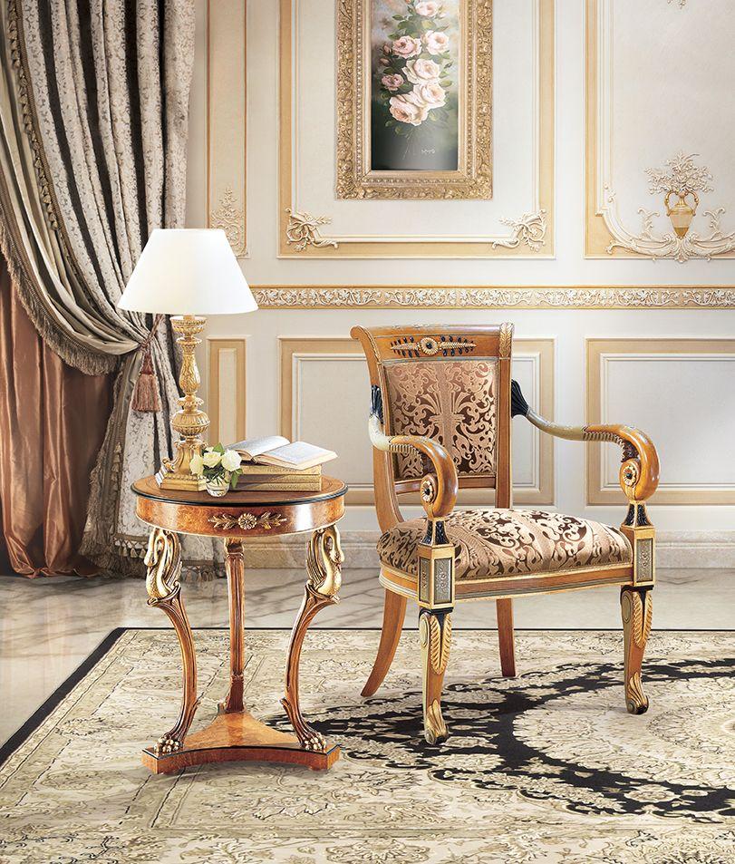 PAINTED ARMCHAIR #Classic #italian #armchair #luxury # ...
