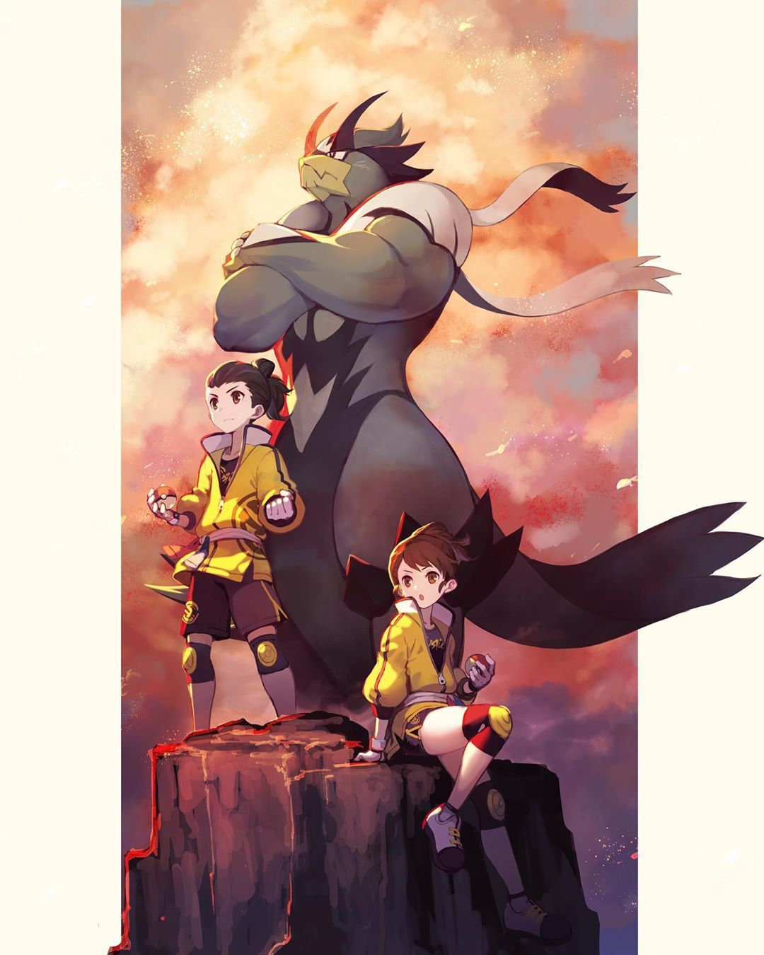 "Pokémon and Anime fanart's Instagram profile post ""Proud"