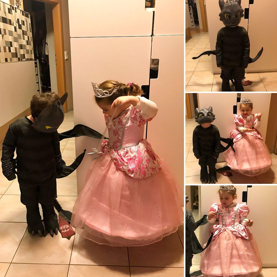 prinzessin  ohnezahn kostüm für kinder selber machen zu