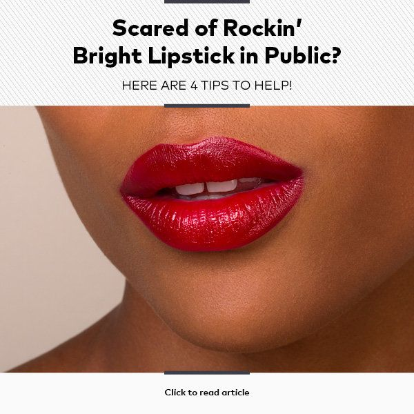 4 Ways to Overcome Your Fear of Wearing Bold Lipstick | Beautylish
