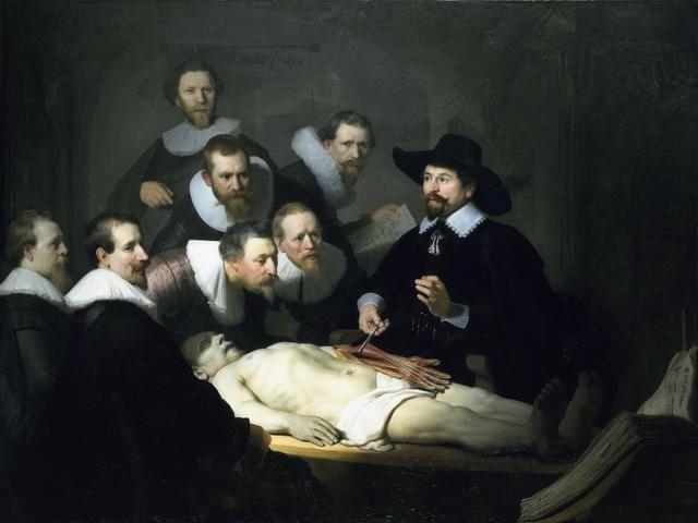 Rembrandt Harmensz. van Rijn, 'The Anatomy Lesson of Dr. Nicolaes Tulp,' 1632