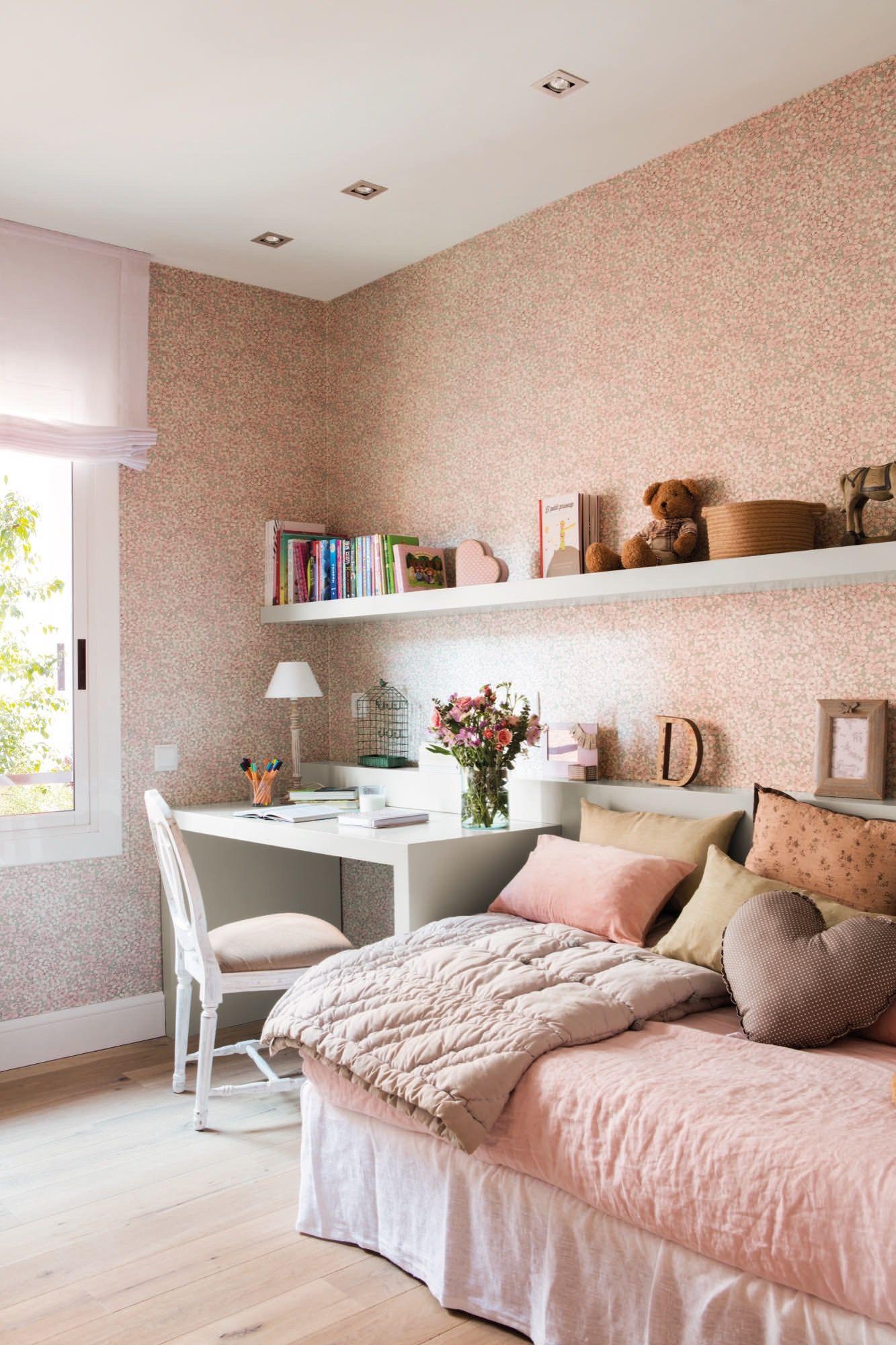 El cuarto infantil dormitorios infantiles decoracion - Decoracion de paredes de dormitorios juveniles ...