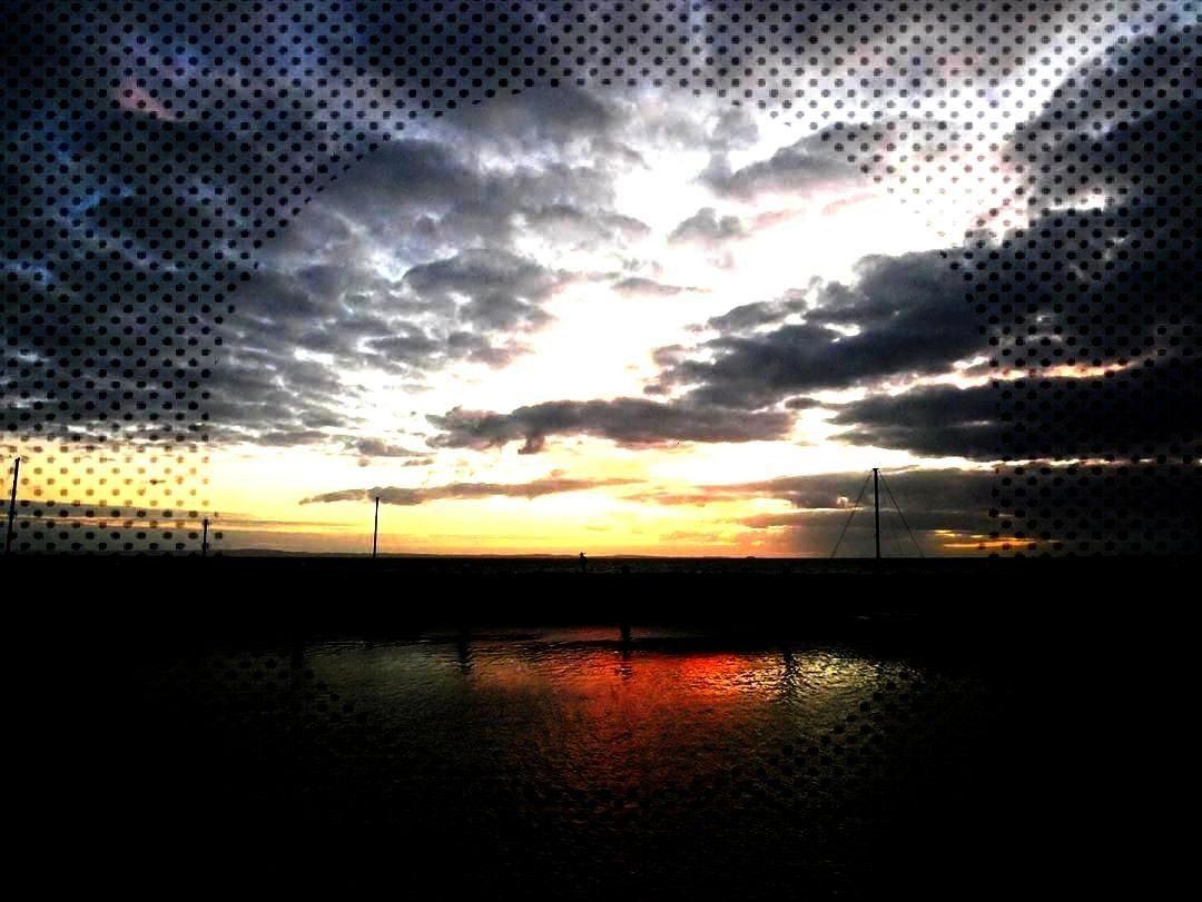 Mackerel Sky Sunset Photograph by John Leslie/Alamy  A