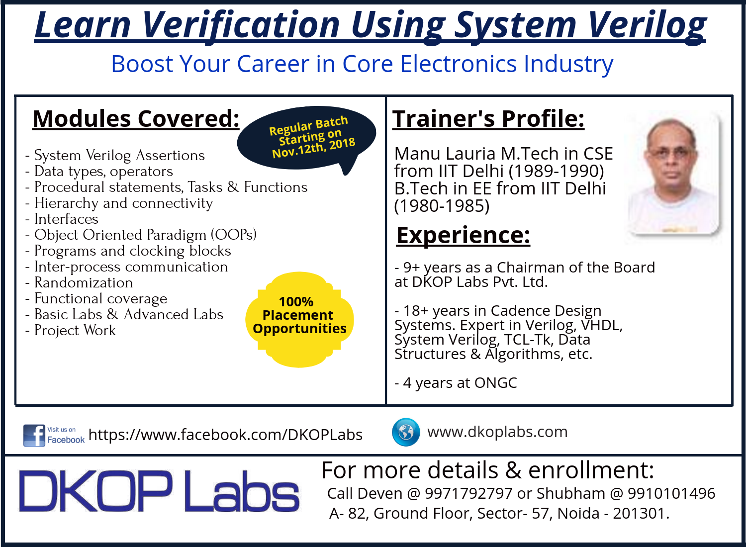 Learn Verification Using System Verilog - Boost Your Career