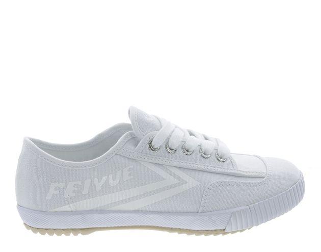 This Season's Best Sneaker Trends | Feiyue Fe Lo Plain White Sneaker | The  Zoe Report