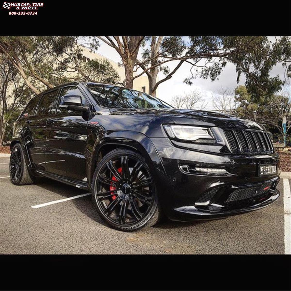 Jeep Grand Cherokee Kmc Km677 D2 Wheels Gloss Black With 22 Inch Rims Jeep Grand Cherokee And On 1200x1200px 22 Inc Jeep Grand Cherokee Jeep Grand 22 Inch Rims