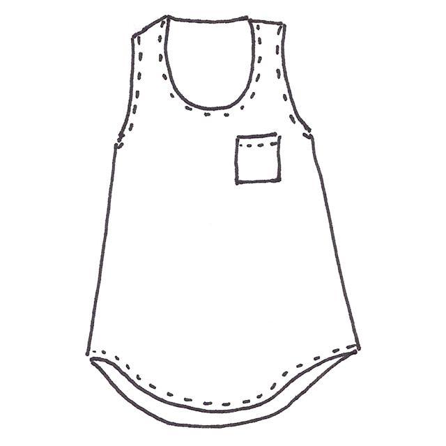 Wiksten Tank Sewing Pattern Downloadable PDF | Sewing for big girls ...
