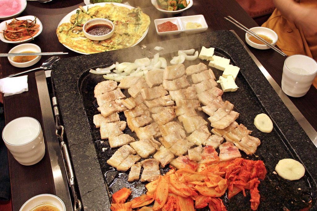 samgyeopsal by soonghy food korean food asian recipes pinterest