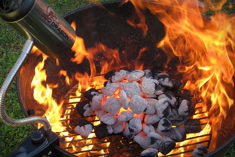 The Bbq Dragon Is A Fire Starting Tool That Starts Charcoal Faster Than Chimney Without Using Lighter Fluid Controls Heat Of Grills And Smokers
